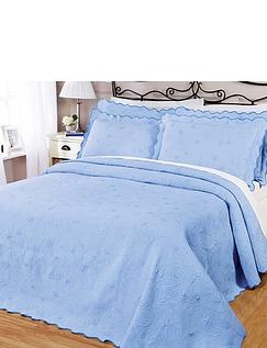 Victoriana Cotton-Rich Bedspread By Diana Cowpe