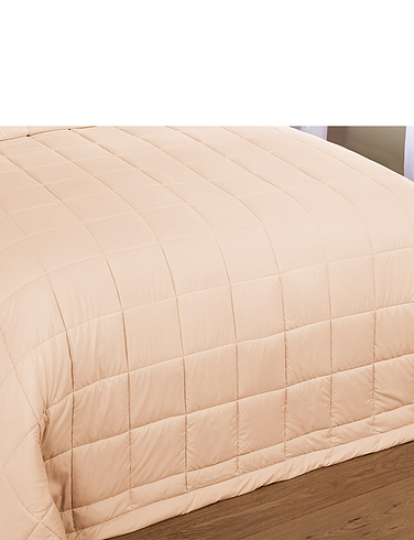 Soft As Down Quilted Throwover Bedspread