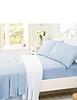 Super Soft Plain Dyed Flannelette Duvet Cover by Belledorm
