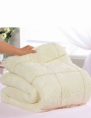 Sherpa Mattress Reversible Topper - Two Comfort Levels - Summer And Winter