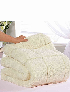 Sherpa Reversible Mattress Topper with Two Comfort Levels