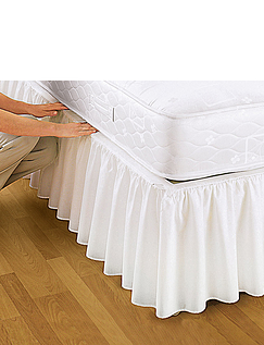 Easy Fit Frilled Valance by Belledorm