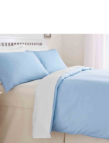 Plain Dyed Easy Care Bedlinen By Belledorm Flat Sheet