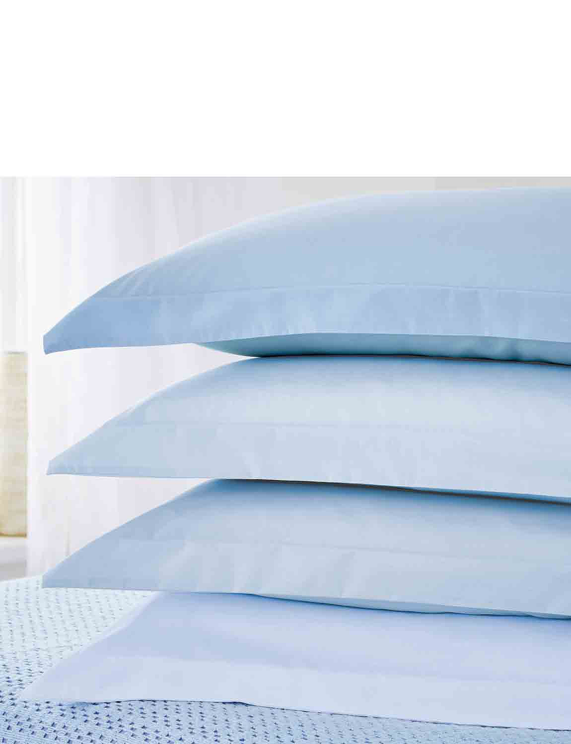 Plain Dyed Plain Dyed Easy-Care Bedlined By Belledorm - Pillowcases