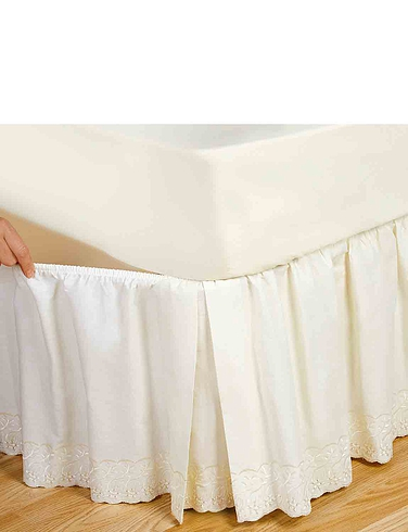 Easy Fit Broderie Lace Valance