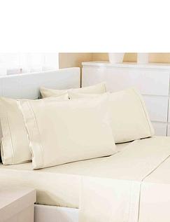 500 Thread Count Cotton Rich Premium Blend Flat Sheet