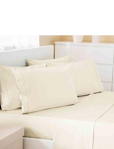 500 Thread Count Cotton Rich Premium Blend Housewife Pillowcases