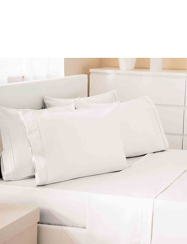 500 Thread Count Cotton Rich Premium Blend Oxford Pillowcase
