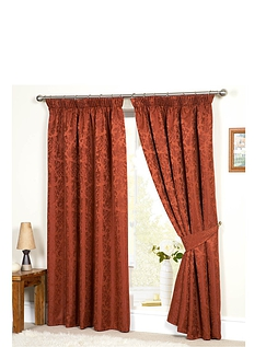Lana Lined Jacquard Curtains