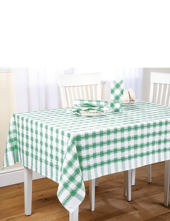 Seersuck Tablecloths and Napkins