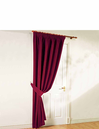 THERMAL VELOUR CURTAINS- Door curtians