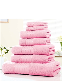 Seven Piece Egyptian Cotton Towel
