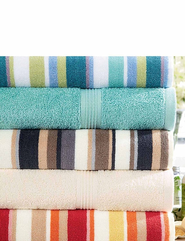 Chrsity Striped Towels
