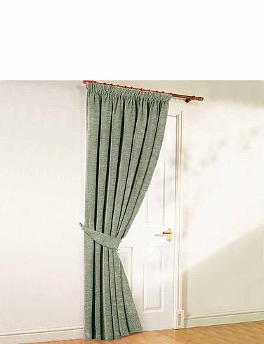 Luxury Heavyweight Chenille Door Curtain