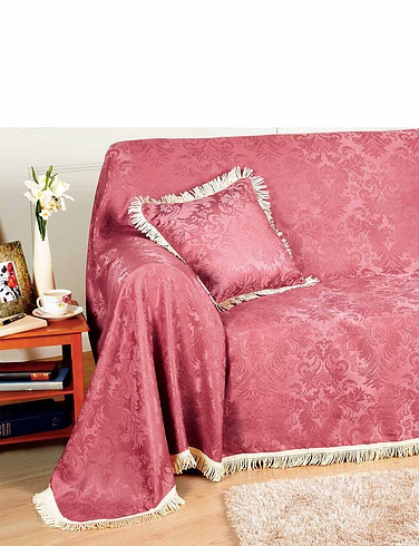 Damask Chair Throw