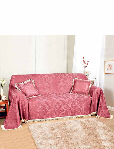 Damask Furniture 2-Seater Throw