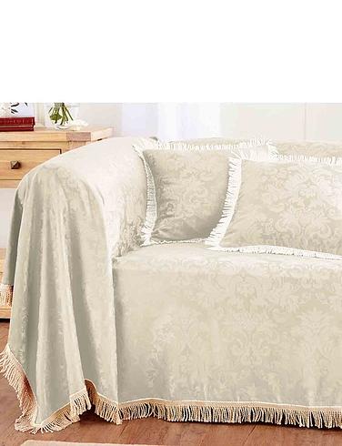 Damask Furniture 2-Seater Set