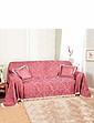 Damask Furniture Throw 3 Seater Set