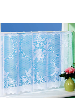 Made to Measure Café Net Lovebirds 4 Yards