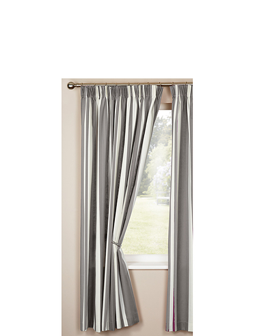 STRIPE LINED CURTAINS