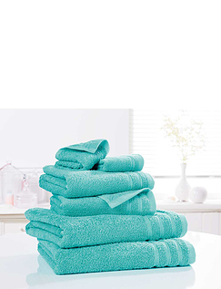 6 Piece Egyptian Cotton Towel Bale