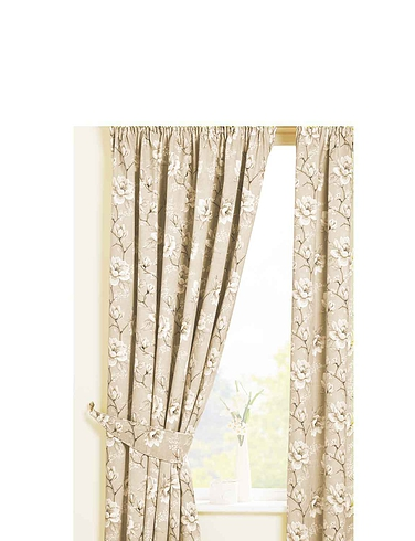 Rosamund Lined Cotton Panama Curtains