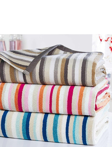 Christy Stripe Towels