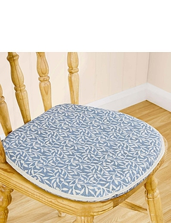 Leaf Print Kitchen/Dining Seat Pad