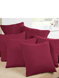 Plain Satin Cushion Covers