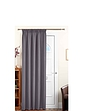 Plain Satin Blackout Door Curtain