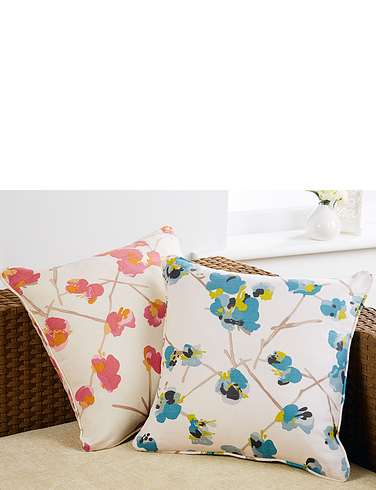 TULA LINED EYELET CURTAINS- CUSHION COVERS