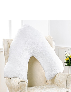 TEDDY BEAR FLEECE V SUPPORT PILLOW
