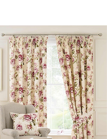 Evelyn Lined Cotton Panama Curtains