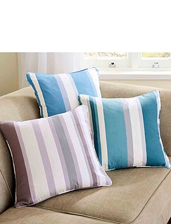 Hampton Stipe Cushion Covers