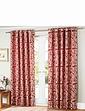 Orla Jacquard Lined Etyelet Curtains