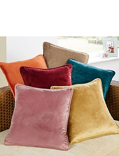 Velour Cushion Covers.