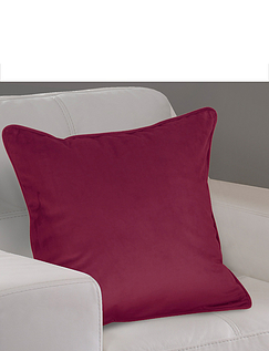 Lined Velour Cushion Covers