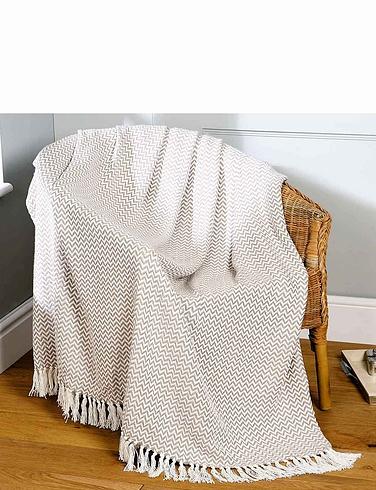 Safi Woven Cotton Throws