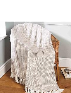 Safi Woven Cotton Throw