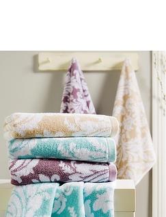 Christy Palermo Jacquard Towels