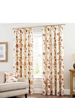 Jacobean Lined Curtain Tie-Backs