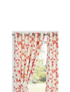 Tula Lined Eyelet Curtains