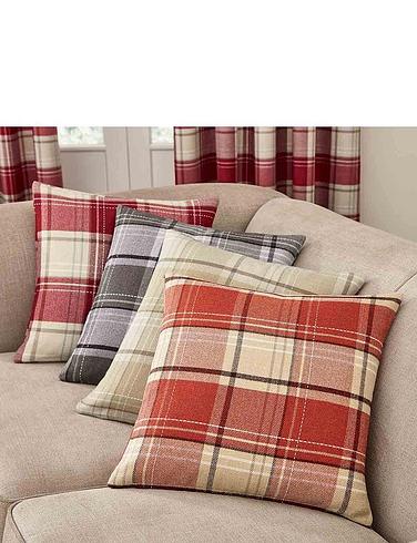 Shetland Check Cushion Covers
