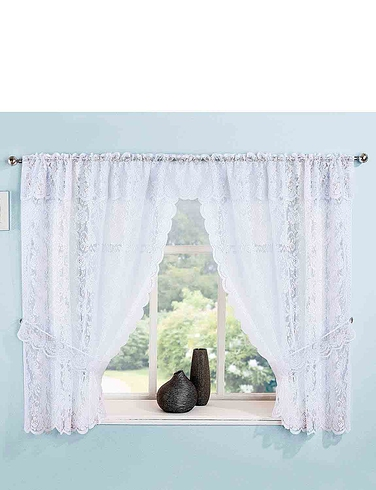 Kew Lace Window Set