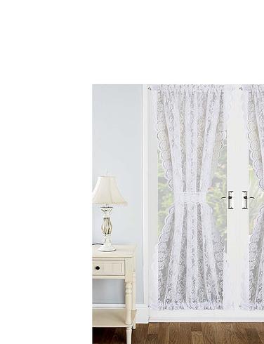 Kew Lace Door Curtain