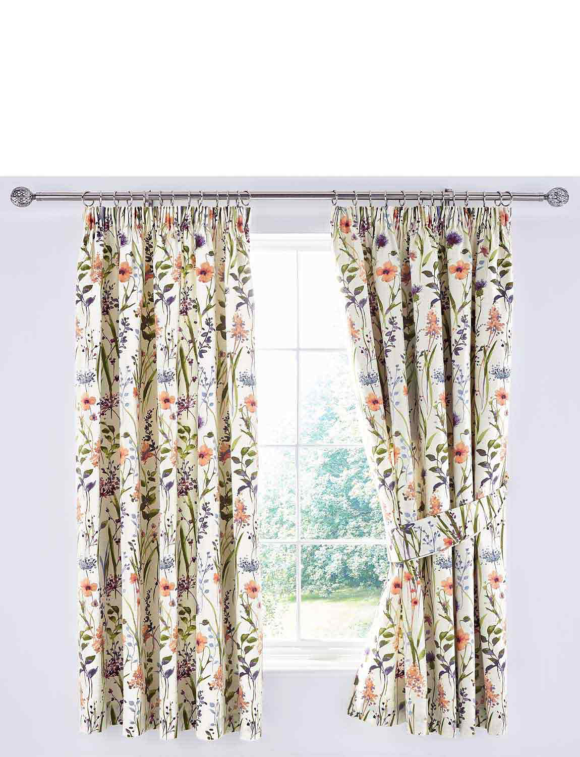 Hampshire Lined Curtains - MULTI