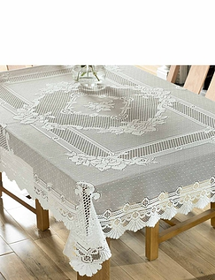Jacquard Lace Tablecloth