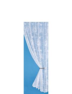 Rose Garden Lace Curtain Panel