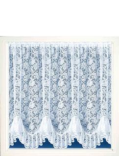 Lace Flounce Curtain