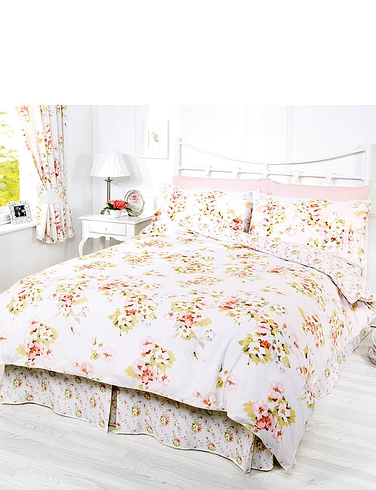 CHERRY BLOSSOM BEDDING COLLECTION BY BELLEDORM VALANCE SHEET
